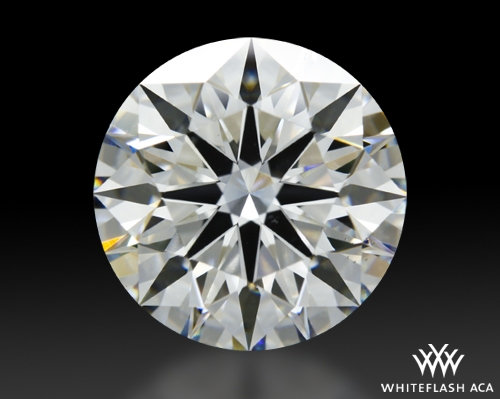 3.325 ct H VS2 A CUT ABOVE® Hearts and Arrows Super Ideal Round Cut Loose Diamond