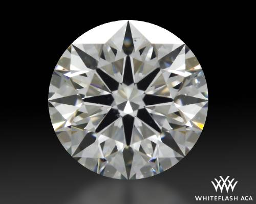 0.726 ct G VS2 A CUT ABOVE® Hearts and Arrows Super Ideal Round Cut Loose Diamond