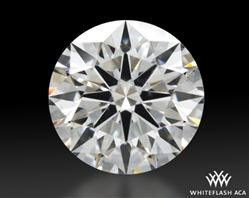 0.705 ct F SI1 A CUT ABOVE® Hearts and Arrows Super Ideal Round Cut Loose Diamond