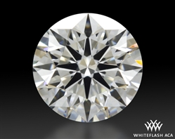 0.771 ct F VS2 A CUT ABOVE® Hearts and Arrows Super Ideal Round Cut Loose Diamond