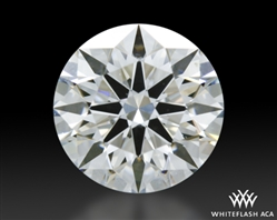 0.57 ct F VS2 A CUT ABOVE® Hearts and Arrows Super Ideal Round Cut Loose Diamond