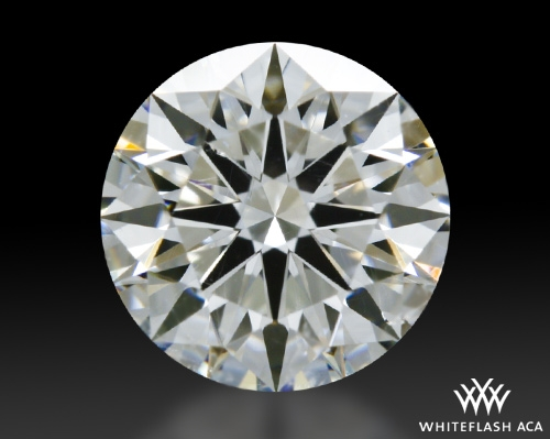 0.906 ct G SI1 A CUT ABOVE® Hearts and Arrows Super Ideal Round Cut Loose Diamond