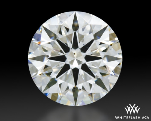0.603 ct E VS2 A CUT ABOVE® Hearts and Arrows Super Ideal Round Cut Loose Diamond