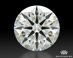 0.822 ct I VS2 A CUT ABOVE® Hearts and Arrows Super Ideal Round Cut Loose Diamond