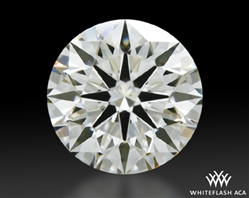 1.252 ct J VS1 A CUT ABOVE® Hearts and Arrows Super Ideal Round Cut Loose Diamond