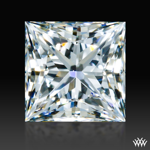 0.597 ct G VVS1 A CUT ABOVE® Princess Super Ideal Cut Diamond