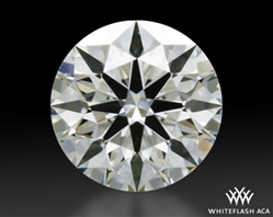 0.304 ct H VS2 A CUT ABOVE® Hearts and Arrows Super Ideal Round Cut Loose Diamond