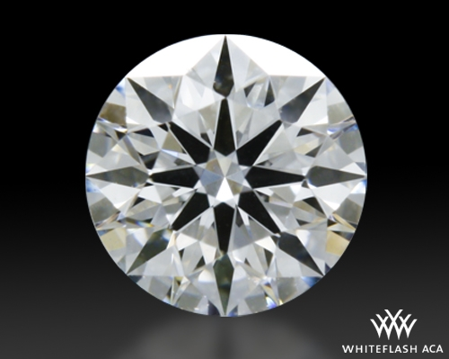 0.348 ct D VVS2 A CUT ABOVE® Hearts and Arrows Super Ideal Round Cut Loose Diamond