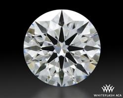 0.348 ct D VVS2 A CUT ABOVE® Hearts and Arrows Super Ideal Round Cut Loose Diamond