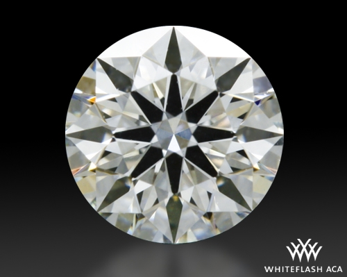 0.382 ct I VS1 A CUT ABOVE® Hearts and Arrows Super Ideal Round Cut Loose Diamond