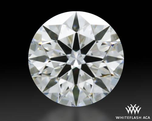 0.504 ct E VVS2 A CUT ABOVE® Hearts and Arrows Super Ideal Round Cut Loose Diamond