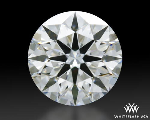 0.504 ct E VVS2 A CUT ABOVE® Hearts and Arrows Super Ideal Round Cut Loose Diamond