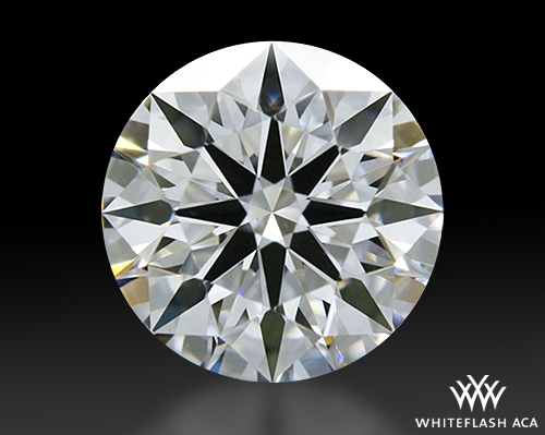 0.618 ct D VS1 A CUT ABOVE® Hearts and Arrows Super Ideal Round Cut Loose Diamond