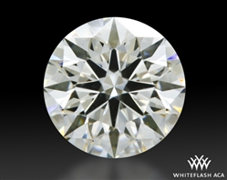 0.758 ct I VS1 A CUT ABOVE® Hearts and Arrows Super Ideal Round Cut Loose Diamond