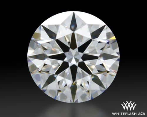 0.417 ct D VVS2 A CUT ABOVE® Hearts and Arrows Super Ideal Round Cut Loose Diamond