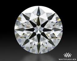 0.417 ct D VVS2 A CUT ABOVE® Hearts and Arrows Super Ideal Round Cut Loose Diamond