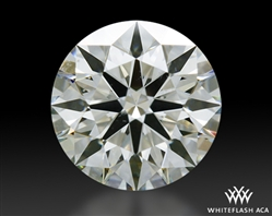 0.611 ct J SI1 A CUT ABOVE® Hearts and Arrows Super Ideal Round Cut Loose Diamond