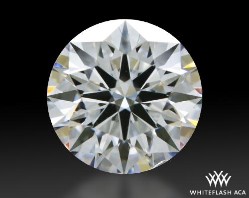 0.814 ct E SI1 A CUT ABOVE® Hearts and Arrows Super Ideal Round Cut Loose Diamond