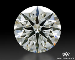 0.907 ct H VS1 A CUT ABOVE® Hearts and Arrows Super Ideal Round Cut Loose Diamond