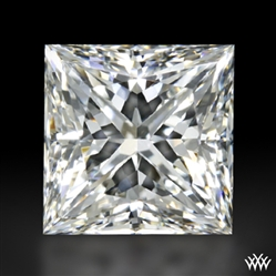 1.047 ct G VVS1 A CUT ABOVE® Princess Super Ideal Cut Diamond