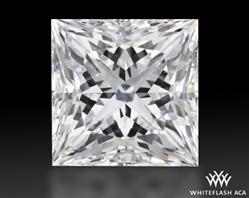 1.008 ct F VS1 A CUT ABOVE® Princess Super Ideal Cut Diamond