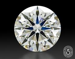 1.038 ct J VS1 Expert Selection Round Cut Loose Diamond