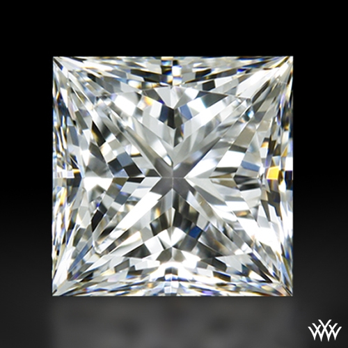 1.016 ct E VS2 A CUT ABOVE® Princess Super Ideal Cut Diamond