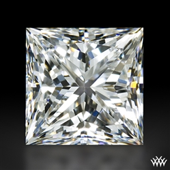 1.016 ct E VS2 A CUT ABOVE® Princess Super Ideal Cut Diamond