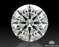 2.198 ct H VS1 A CUT ABOVE® Hearts and Arrows Super Ideal Round Cut Loose Diamond