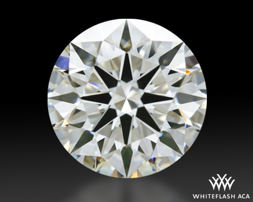 1.515 ct H VS1 A CUT ABOVE® Hearts and Arrows Super Ideal Round Cut Loose Diamond