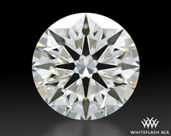 1.513 ct I VS1 A CUT ABOVE® Hearts and Arrows Super Ideal Round Cut Loose Diamond