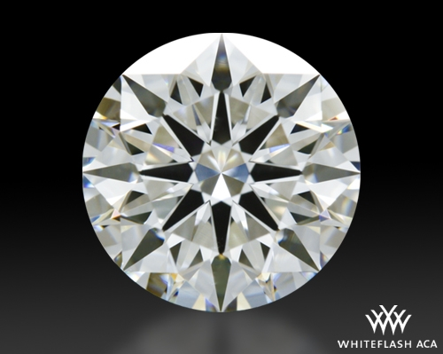 1.543 ct H VS2 A CUT ABOVE® Hearts and Arrows Super Ideal Round Cut Loose Diamond
