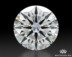 1.173 ct F VS1 A CUT ABOVE® Hearts and Arrows Super Ideal Round Cut Loose Diamond