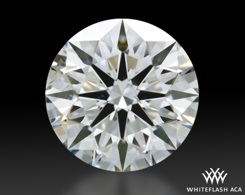 1.054 ct F SI1 A CUT ABOVE® Hearts and Arrows Super Ideal Round Cut Loose Diamond