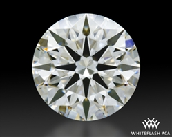 1.023 ct I VS2 A CUT ABOVE® Hearts and Arrows Super Ideal Round Cut Loose Diamond