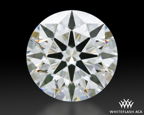 0.862 ct E VS1 A CUT ABOVE® Hearts and Arrows Super Ideal Round Cut Loose Diamond