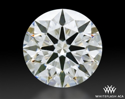 0.862 ct E VS1 A CUT ABOVE® Hearts and Arrows Super Ideal Round Cut Loose Diamond