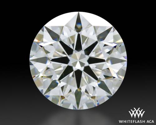 0.833 ct D VS1 A CUT ABOVE® Hearts and Arrows Super Ideal Round Cut Loose Diamond