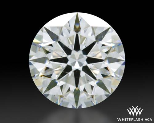 0.851 ct G VS2 A CUT ABOVE® Hearts and Arrows Super Ideal Round Cut Loose Diamond