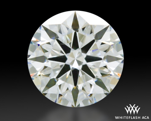 0.607 ct H VS2 A CUT ABOVE® Hearts and Arrows Super Ideal Round Cut Loose Diamond