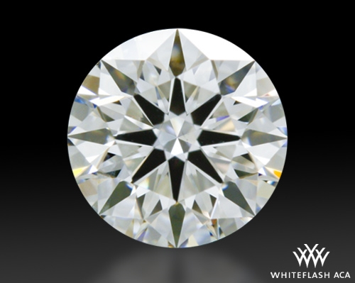 0.657 ct F SI1 A CUT ABOVE® Hearts and Arrows Super Ideal Round Cut Loose Diamond