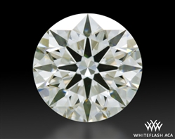 0.77 ct H VS2 A CUT ABOVE® Hearts and Arrows Super Ideal Round Cut Loose Diamond