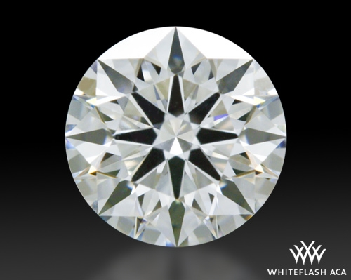 0.717 ct F VS1 A CUT ABOVE® Hearts and Arrows Super Ideal Round Cut Loose Diamond