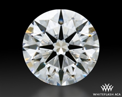 0.405 ct D VS1 A CUT ABOVE® Hearts and Arrows Super Ideal Round Cut Loose Diamond