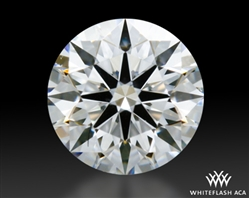 0.433 ct E VS2 A CUT ABOVE® Hearts and Arrows Super Ideal Round Cut Loose Diamond