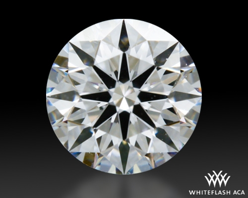 0.41 ct D VS1 A CUT ABOVE® Hearts and Arrows Super Ideal Round Cut Loose Diamond