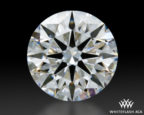 0.435 ct D SI1 A CUT ABOVE® Hearts and Arrows Super Ideal Round Cut Loose Diamond