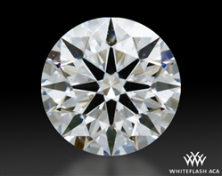 0.428 ct D VS2 A CUT ABOVE® Hearts and Arrows Super Ideal Round Cut Loose Diamond