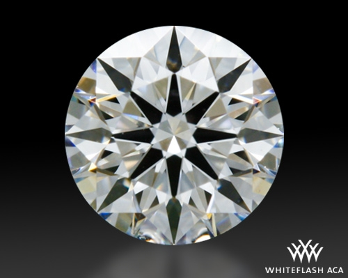 0.43 ct F VS2 A CUT ABOVE® Hearts and Arrows Super Ideal Round Cut Loose Diamond