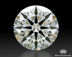 0.488 ct I VS2 A CUT ABOVE® Hearts and Arrows Super Ideal Round Cut Loose Diamond